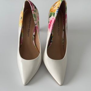 Christian Siriano for Payless Floral Print Heels